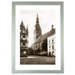 """Zdjęcie """"Katedra w Elblągu""""   w ramie alum. 30x20mm"""