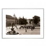 """Zdjęcie """"Plac Fryderyka Wilhelma w Elblągu"""" w ramie alum. 9x21mm"""