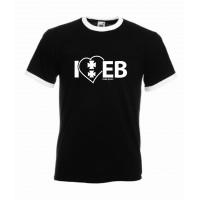 Koszulka czarna I'love EB
