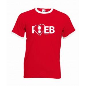 Koszulka czerwona I'love EB