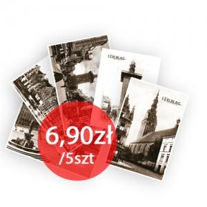 "Pocztówki ""Dawny Elbląg"" (P5-3)"